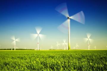 Windräder auf dem Land erzeugen ungemütlichen Geräuschpegel