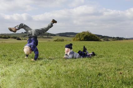 Sport und Spiel im Freien!