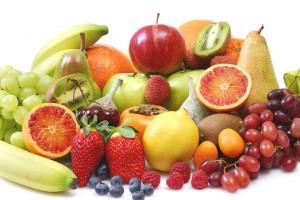 Frisches Obst, gesunde Ernährung