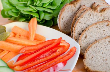 gesunde Brotzeit